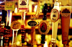 beer taps - photo by ricciardella | morguefile