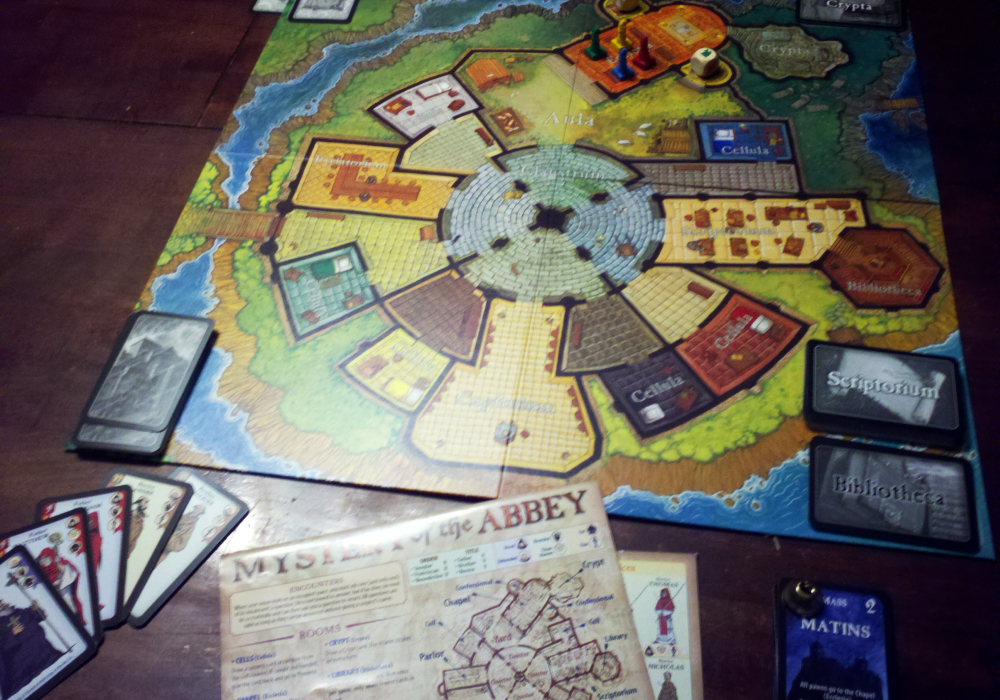 Mystery of the Abbey Board Game Review - YouTube